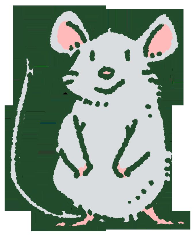 の 絵 ネズミ